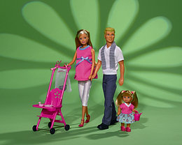 "Steffi Love Кукла Штеффи ""Счастливая семья"""