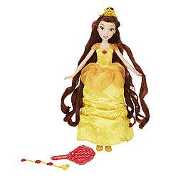 Hasbro Disney Princess Белль с длинными волосами и аксессуарами