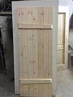 Двери из сосны для бани толщина 30 мм