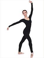 Комбинезон для гимнастики лосины длинный рукав , фото 1