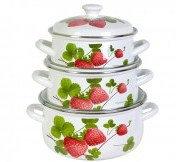 Набор Летняя ягода-3 (белая)