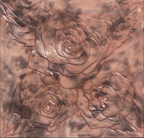 Брусчатка тротуарная плитка - Роза