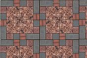 Брусчатка тротуарная плитка - Роза, фото 3