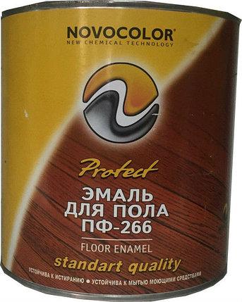 ЭМАЛЬ ПФ-266 красно-коричневая 2,2 кг, фото 2