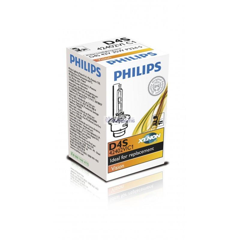 Ксеноновая лампа Philips D4S, 42 В, 35 Вт 42402VIC1