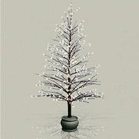 Декорация зимнее дерево 1,2м с мерцанием огней