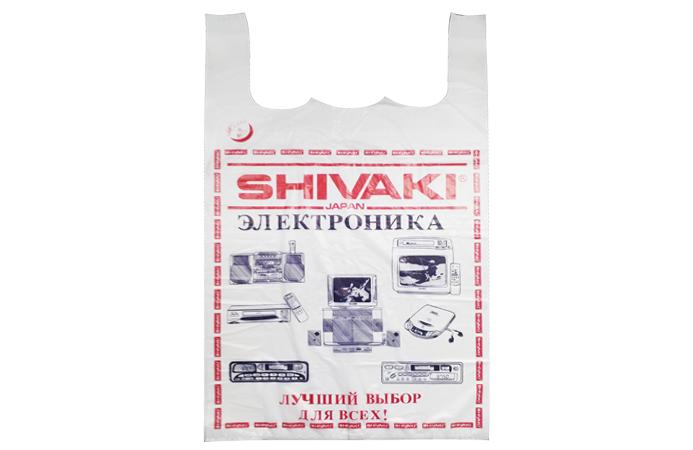 ПАКЕТ-МАЙКА Shivaki 25 шт