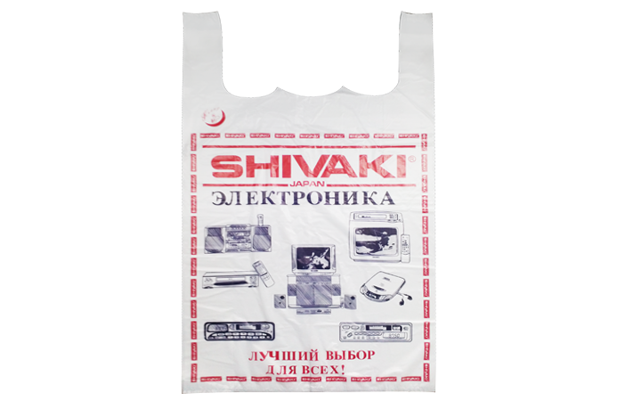 ПАКЕТ-МАЙКА Shivaki(25шт)