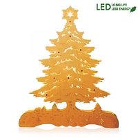 Декорация светодиод. Новогодняя елка 32х23 на батарейке 270-02