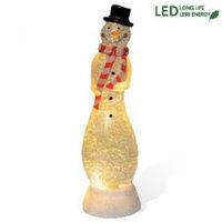 Декорация светодиод. Снеговик 32х9см на батарейке 990-53