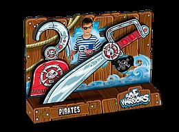 """Мягкие войны - Пиратский набор """"Сабля, крюк и повязка"""""""