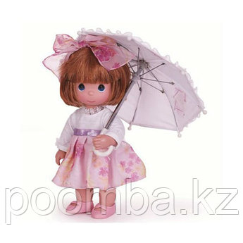 Precious Moments С зонтиком (рыжая)