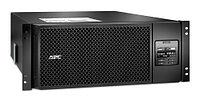 APC Smart-UPS SRT RM, 6000VA/6000W, On-Line, Extended-run, Rack 4U (Tower convertible), Pre-Inst. Web/SNMP,