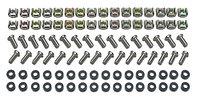 APC M6 Hardware Kit (32 sets: пружинные профильные гайки, нейлоновые шайбы, винты)