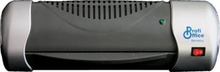 Ламинатор A4, 234мм, 2ролика, 80-125микр, пластик ProfiOffice