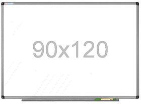 Доска магнитно-маркерная 90x120см, алюмин.рамка Data Zone