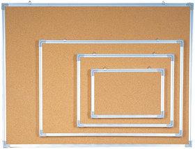 Доска пробковая 90x180см, алюмин.рамка Data Zone