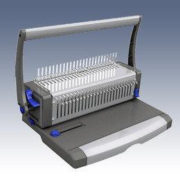 Машина для переплета, А4, проб.25л, перепл.450л, для пластиковых пружин ProfiOffice
