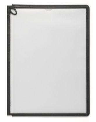 """Демопанель Durable """"SHERPA® Display Panel PLUS"""", L-образная, черная"""