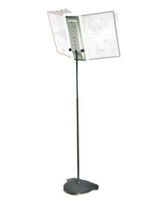 """Демонстрационная система Durable """"SHERPA® Floor Stand"""", напольная, на 10 панелей (без панелей)"""