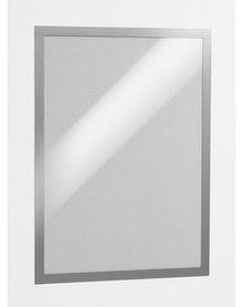 Настенная магнитная информационная рамка Magaframe A3 Durable серебристая