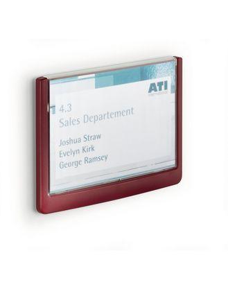 Таблички настенные Click Sign 149x105,5 мм Durable красная