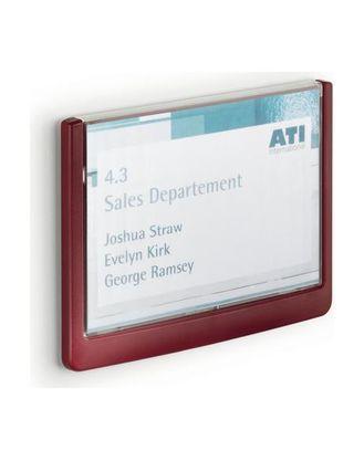 Таблички настенные Сlick Sign 149x52,5 мм Durable красная