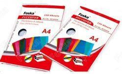 Обложка для переплета, A4, 250микр, пластиковая, прозрачная Foska