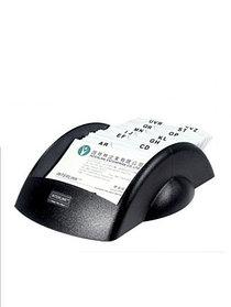 Визитница на 100 визиток, 245x131мм, настольная картотека, черная O-Life