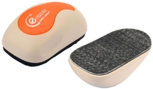 "Стерка для маркерной доски 120x64мм, магнитная,форма ""Мышки"" Data Zone"