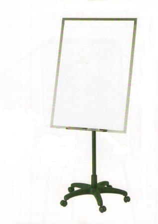 Доска магнитно-маркерная 70x100см, 5колес, Data Zone