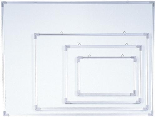 Доска магнитно-маркерная 90x150см, алюминиевая рамка Data Zone