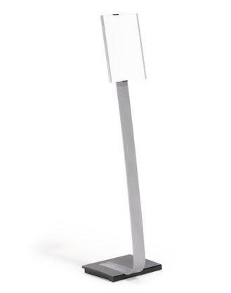 Напольный информационный стенд Durable Info Sign A4 серебристый