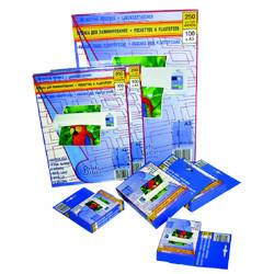 Пленка для ламинирования А7, 200микр, глянцевая ProfiOffice
