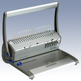 Машина для переплета, А4, проб.16л, перепл.450л, для пластиковых пружин ProfiOffice