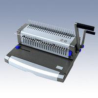 Машина для переплета, А4, проб.22л, перепл.450л, для пластиковых пружин ProfiOffice