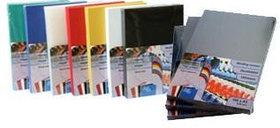 Обложка для переплета, А4, 200микр, пластиковая, прозрачная красная ProfiOffice