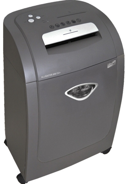 Шредер секр.4(2x8мм) 418х310х630см., 8 листов, 1CD, пласт.карточка, 32л, 16.7кг, ProfiOffice
