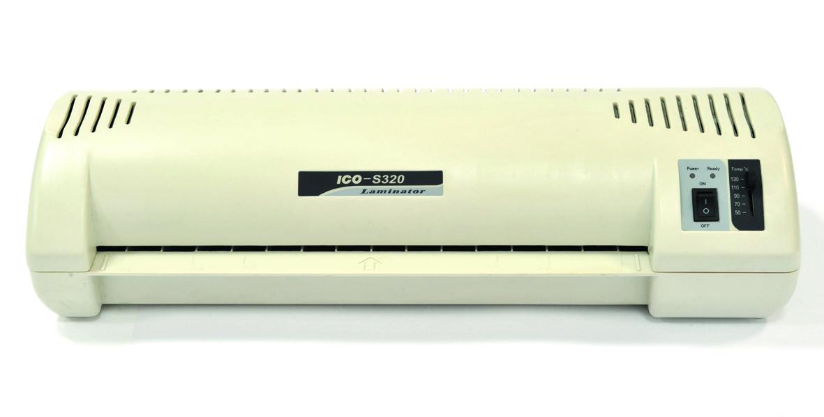 Ламинатор A3, 320мм, 4 ролика, 80-300микр, пластик Artter