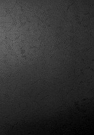 """Обложка для переплета, A3, 230гр, картон """"под кожу"""", черная Bindermax"""