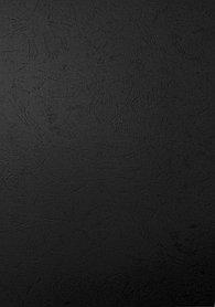 """Обложка для переплета, A4, 230гр, картон """"под кожу"""", черная Bindermax"""