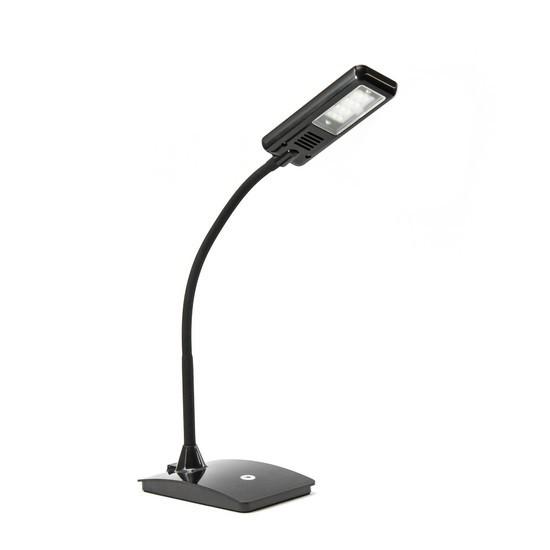 Настольная LED лампа, Deluxe, DLTL-101B-6W, 6Вт, 12 диодов, Сенсорное управление, 3 Степени яркости,
