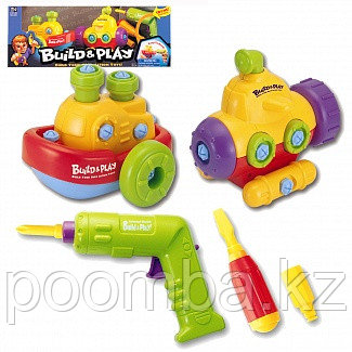 """Keenway Набор """"Build & Play""""  """"Корабль+подводная лодка"""""""