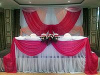 Оформление свадьбы в малиновом цвете, фото 1