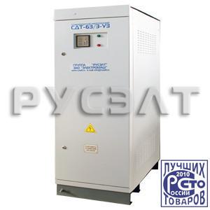 Стабилизатор напряжения трехфазный 120 кВА СДТ-120/3