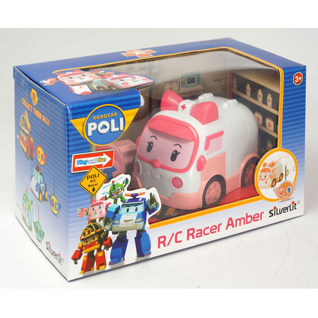 Машина Robocar Poli Эмбер на р/у (15см) (83188)