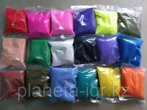 """Цветной песок. Песок в пакете """"Малиновый""""  арт. 972 ((1000гр.)"""
