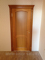 Дверь межкомнатная деревянная шпон