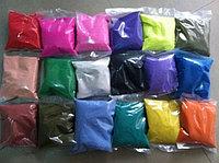"""Цветной песок. Песок в пакете """"Черный"""" (№18) арт.418/987 (1000гр.)"""