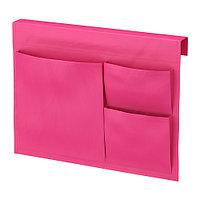 СТИККАТ Карман д/кровати, розовый, фото 1
